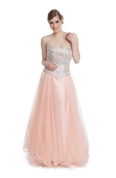 Robe Gabrielle Strapless Dress Formal, Prom Dresses, Formal Dresses, Bustier, Chic, Rose, Oriental, Fashion, Club Outfits