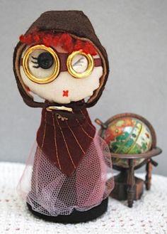 Amélia, a Aviadora by Kitty Krafts