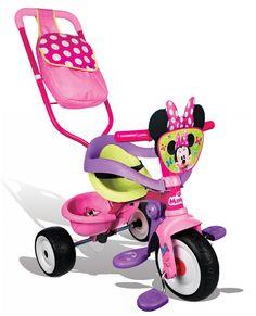 Hľadáte kvalitné detské trojkolky? Trojkolka Be Move Confort v ružovej farbe s obľúbeným motívom Minnie je krásna trojkolka, ktorá rastie s vašim dieťaťom od 10 mesiacov.