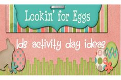 LDS Activity Day Ideas