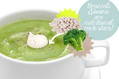 Beautifying Broccoli, Bean and Leek Soup Recipe: These nutritional rock stars taste great and make you more beautiful.