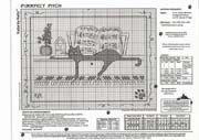 Schema punto croce Gatto Nero Piano2