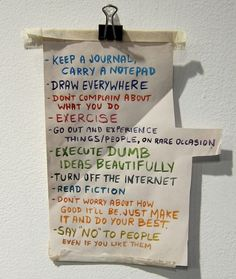 Tips for life word of wisdom, daily reminder, life, check lists, art journals, inspir, thought, quot, live