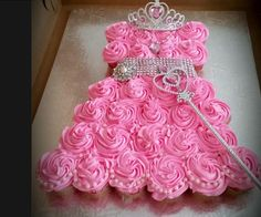 Cupcake dress formation inspiration! Princess Dress Cupcakes