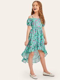 Kids Outfits Girls, Cute Girl Outfits, Girls Fashion Clothes, Teen Fashion Outfits, Kids Fashion, Preteen Girls Fashion, Girls Dresses Sewing, Girls Dresses Online, Little Girl Dresses