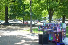 2015 Sing for Hope Piano placed in Brower Park