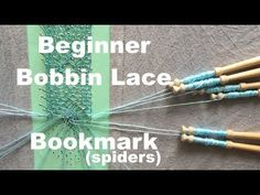 Hi Guys, I'm finally back doing some bobbin lace! This particular pattern has spiders and uses 12 pairs of bobbins. Bobbin Lace Patterns, Tatting Patterns, Lace Knitting, Knitting Stitches, Hairpin Lace Crochet, Lace Weave, Bobbin Lacemaking, Tatting Lace, Needle Lace