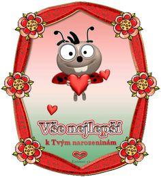 024 dětská přáníčka k narozeninám Happy Birthday Quotes, Snoopy, Humor, Facebook, Christmas Ornaments, Holiday Decor, Fictional Characters, Humour, Moon Moon