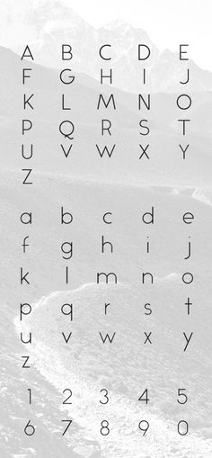 Alcubierre Free Typeface Preview