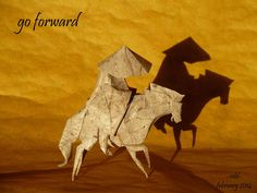 Incredible Origami Models from Chinese Culture and Mythology Origami Artist, Chinese Mythology, Origami Models, Year Of The Horse, Chinese Culture, Moose Art, The Incredibles, History, Inspiration
