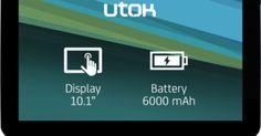 Super Oferta UTOK 1000D Tableta cu procesor Dual Core, ecran de 10.1 inch si Android 4.2 Jelly Bean   OFERTE PRODUSE