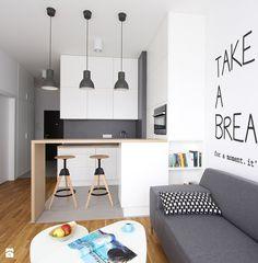 MIESZKANIE ESPRESSO - Kuchnia, styl nowoczesny - zdjęcie od BE2 Studio