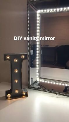 How To Make A Vanity Mirror With Lights Glamorous 17 Diy Vanity Mirror Ideas To Make Your Room More Beautiful Decorating Design