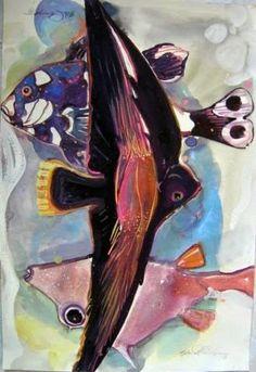 Artist: Ehi Obinyan Medium: Watercolour/Gouache Theme: Untitled Size: 56 x 38 cm #african #art