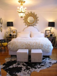 The Cultivated Chic Life: Bedroom Decoration: Simple, Soft and Feminine
