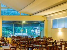 Amplo restaurante, aberto ao público! http://www.vilaverdehotel.com.br/gastronomia.asp