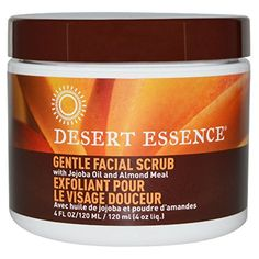Desert Essence Gentle Facial Scrub 4 fl oz 120 ml  2pc *** You can get additional details at the image link.(This is an Amazon affiliate link and I receive a commission for the sales) #FaceExfoliatorsPolishesandScrubs