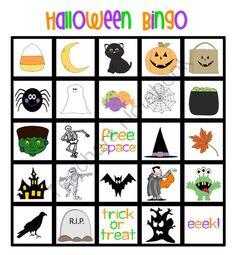 free printable halloween bingo halloween bingo halloween bingo cards and holidays halloween - Preschool Halloween Bingo