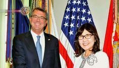 Japão-EUA, Inada e Carter reafirmam aliança de segurança. Os chefes de defesa japonês e norte-americano, reafirmaram a importância da aliança bilateral...