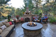 Patio fire pit Design Ideas, Pictures, Remodel and Decor