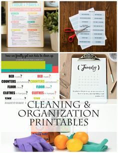 I am sharing how to spend 1 hour per day for 7 days to get a clean and decluttered home! And I have a free printable checklist to help too!