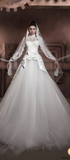 hassan mazeh wedding dress