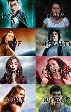 Harry Potter, The Fault in our Stars The Host, Percy Jackson, Immortal Instruments Hunger Games, Divergent and the Maze Runner Hunger Games, I Love Books, Good Books, Les Ames Vagabondes, Fangirl, Citations Film, Fandom Quotes, Suzanne Collins, Book Memes