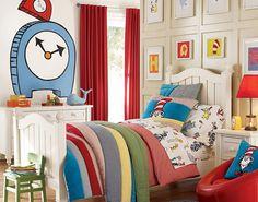Even European-Mediterranean style, children's room layout design!