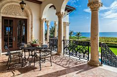 Perfect terrace
