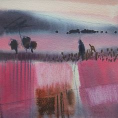 Early Morning Landscape by Felicity House