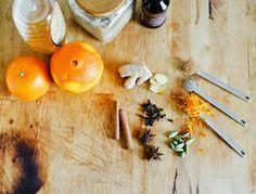 #Tee selber machen - Lecker! #Tea #Orange #DIY #Zimt #Nelken #Kochen #Basteln #xmas #Weihnachten #clove #spice