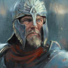 Art of Tolkien's Universe Fantasy Races, Fantasy Rpg, Medieval Fantasy, Fantasy Artwork, Character Portraits, Character Art, Character Design, Dungeons And Dragons Characters, Fantasy Characters