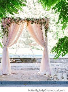 Wedding Arch, Dekoration für freie Trauung für russische Hochzeiten