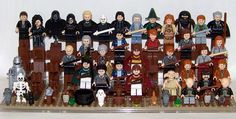 By Slayerdread on Flickr: LEGO - Harry Potter Minifigure Collection (WIP) Starting from the 2010 release... I'm only really missing Luna Lovegood, I do have Draco Malfoy in his Quidditch Uniform, but I needed the head for young Bruce Wayne in my Batman collection. I'm probably going to need to get the larger display case (same size as my Batman case), but I deal with that when the time comes... Update: ...the time is now!