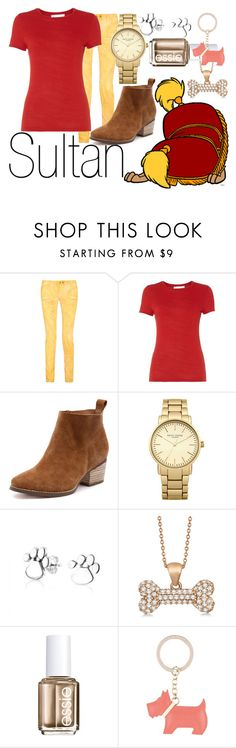 """""""Sultan~ DisneyBound"""" by basic-disney ❤ liked on Polyvore featuring Balmain, HUGO, Topshop, Bling Jewelry, Allurez, Essie and Radley"""