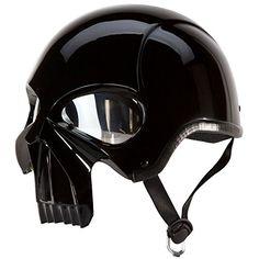 "IV2 ""3D SKULL"" Chopper, Cruiser, Beanie, Half Helmet Gloss Black Motorcycle Helmet [DOT] (XL) IV2 http://www.amazon.com/dp/B00MLLKCAO/ref=cm_sw_r_pi_dp_cEOowb0RPFE3M"