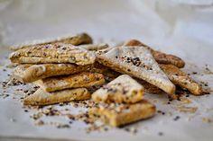 ChupChupChup: Crackers integrales de sésamo
