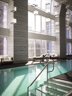 Amid the gravity- and market-defying high-rises sprouting up along Manhattan's West 57th Street (a.k.a. Billionaires' Row), Park Hyatt's new flagship is both of—and apart from—its midtown milieu. Yes, it occupies the lower floors of the new One57 tower, where penthouses skirt the $100 million mark. And yes, the 25th-floor pool, running 65 feet under a tiered chandelier, is designed to make a splash. But the rest of the hotel is a study in discretion directed by Yabu Pushelberg, from the…