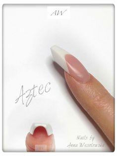 New shape? | Fantasy edge nails, nail art design | ideas de unas