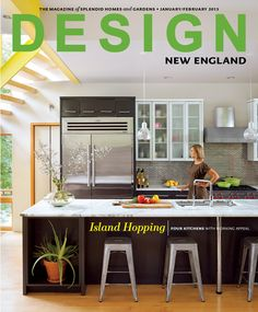 Design New England Cover - Love this kitchen!