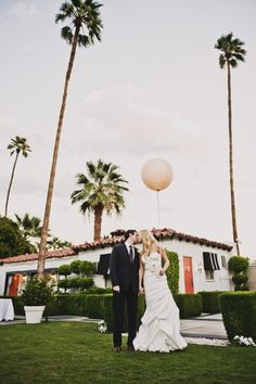 This is why we love palm springs ... brides come on out for a palm springs wedding