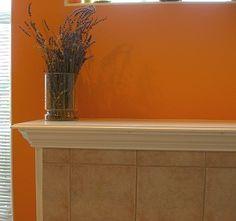 Pumpkin Kitchen Color Colors Orange Walls Matthew 6 Desert Homes