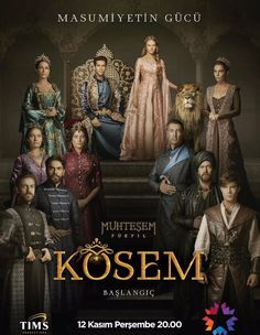 Magnificent Century Kosem (Muhtesem Yuzyil Kosem): I am reviewing this series though I am only one third of the way through. Although the series is not exactly historically accurate, the reading and research I have done as I have watched the episodes shows that the basic story lines are quite true to life. I am finding it very educational to be seeing a drama told from the point of the islamic Turks