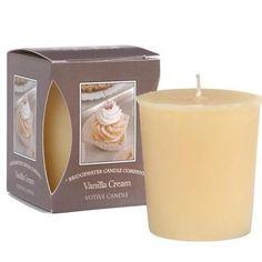 Bridgewater Candle Boxed Votive - Vanilla Cream