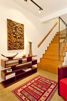 Casa Itaim  Hall de Entrada Projeto - Leandro Cerny - Colaboração - Enzo Sobocinski Arquitetura