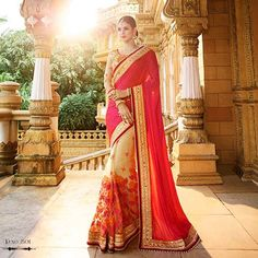 Heavy Work Exclusive Designer Bridal Wedding Saree