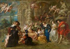 Rubens. El jardín del Amor - Colección - Museo Nacional del Prado