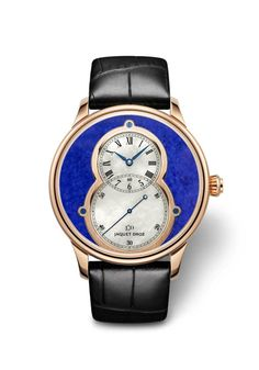 Grande Seconde Lapis Lazuli (ref. J003033363) http://www.orologi.com/cataloghi-orologi/jaquet-droz-legend-geneva-grande-seconde-lapis-lazuli-j003033363