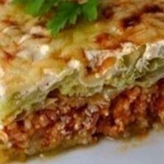 rakott_kel_recept_egyszeruen Lasagna, Quiche, Food And Drink, Drinks, Breakfast, Ethnic Recipes, Drinking, Morning Coffee, Beverages