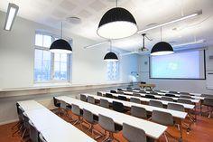 Work Office Design, Conference Room, Interior Design, Table, Furniture, Home Decor, Nest Design, Decoration Home, Home Interior Design
